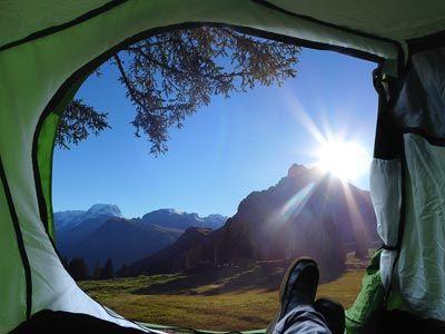 tent camping frankrijk